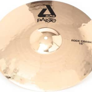 "Paiste 16"" Alpha Rock Crash Cymbal"