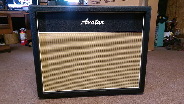 Avatar 2x12 Open Back Cabinet with Scumback speakers | Reverb