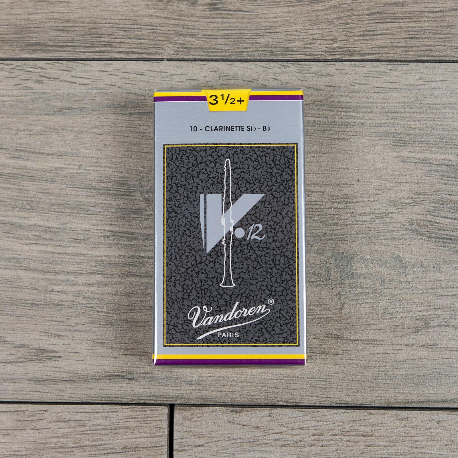Strength 3.5 Box of 10 Vandoren Traditional Bb Clarinet Reeds Strength 3.5 Box of 10