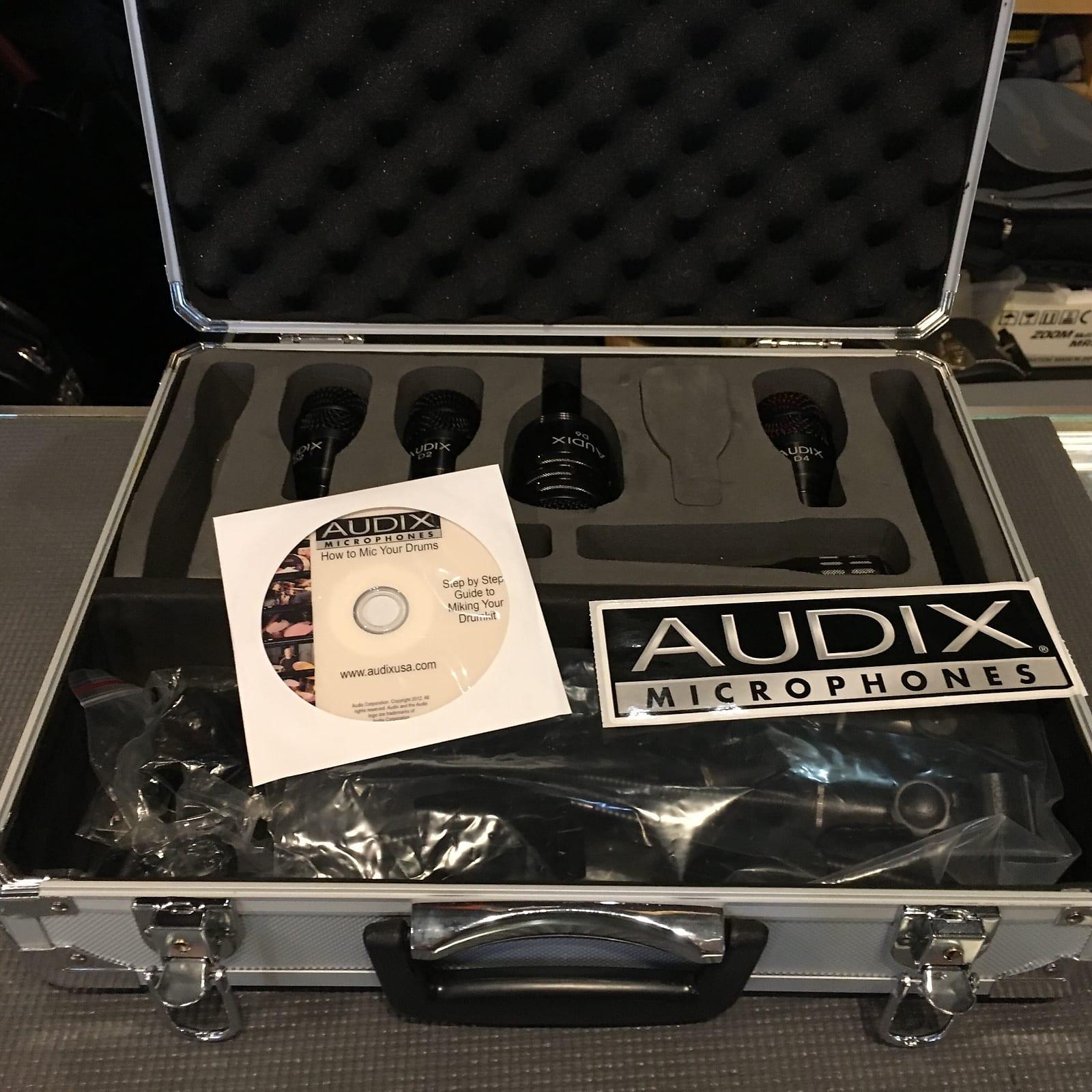 audix dp5a professional 5 piece drum microphone package. Black Bedroom Furniture Sets. Home Design Ideas