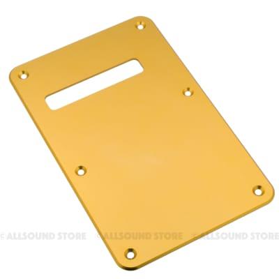 ANODIZED ALUMINUM Back Plate Tremolo Cover for Fender Stratocaster Strat® - GOLD
