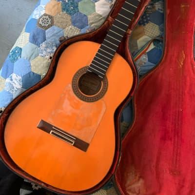 Marcelo Barbero (Hijo) para casa Fernandez Flamenco Guitar  1964 for sale