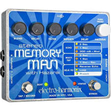 Electro Harmonix Stereo Memory Man with Hazarai XO Series