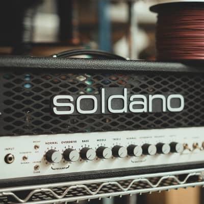 Soldano SLO-30 Classic Super Lead Overdrive Head 220V-240V for sale