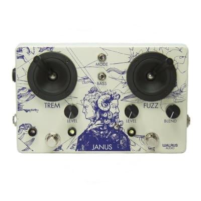 Walrus Audio Janus Tremolo / Fuzz Guitar Effects Pedal for sale