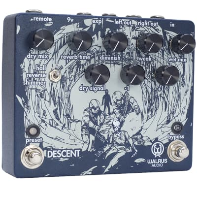 Walrus Audio Descent Reverb Pedal for sale
