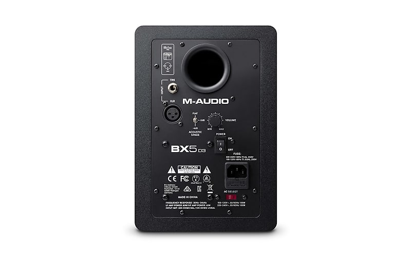 m audio bx5d3 5 powered studio reference studio monitor reverb. Black Bedroom Furniture Sets. Home Design Ideas
