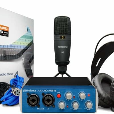 PreSonus AudioBox 96 Studio Pack