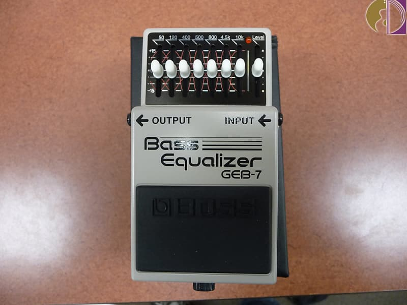 Boss GEB-7 Bass Equalizer | Spotlight Music Store | Reverb