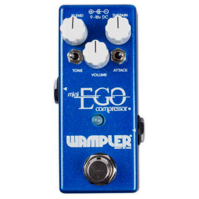 Wampler Mini Ego Guitar Compressor Effects Pedal, Immaculate Condition! with Full Warranty