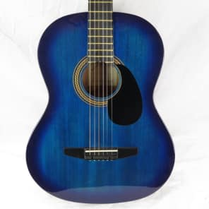 Johnson JG-100-BL Student Acoustic Guitar Blue