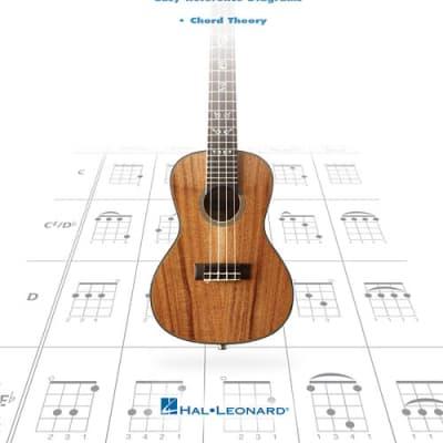 Hal Leonard The Ultimate Ukulele Chord Chart