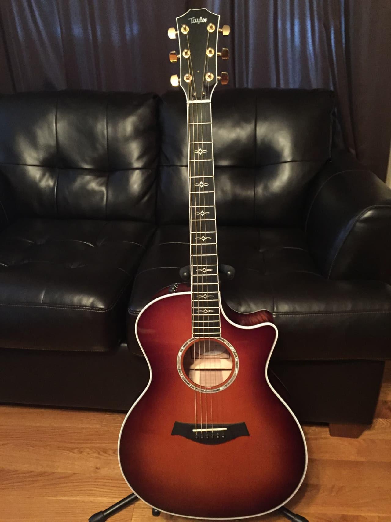 taylor 614ce 2014 tobacco sunburst haciel 39 s guitars reverb. Black Bedroom Furniture Sets. Home Design Ideas