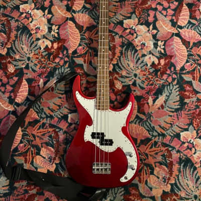 Baltimore BB-5 Metallic Red 4 String Bass for sale