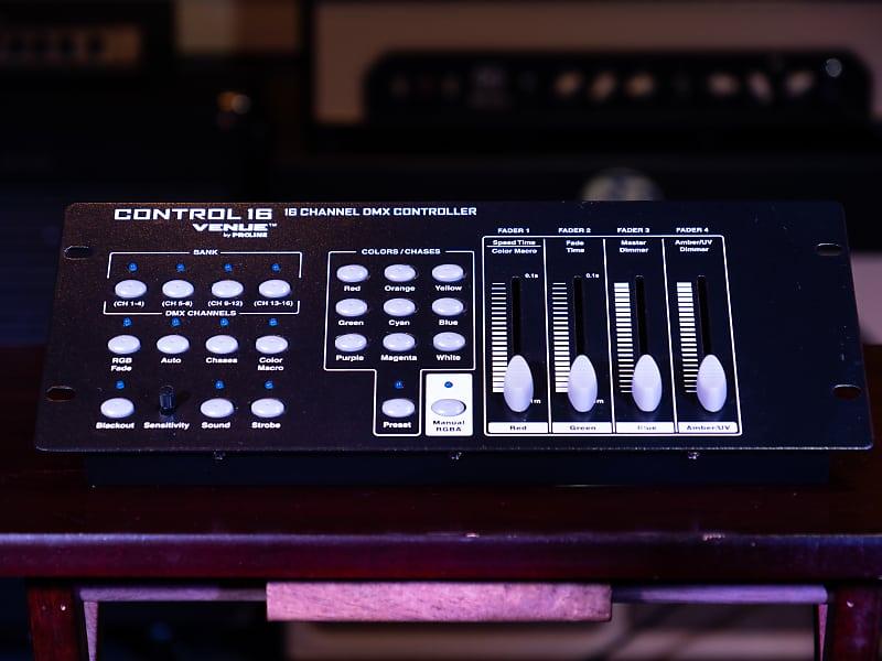 Musical Instruments Live Sound & Stage Proline Venue Control16 16 ...