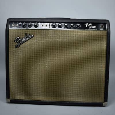 1964 Fender Blackface Pro Vintage Electric Guitar Amplifier USA
