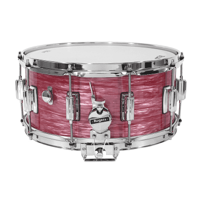 """Rogers #37 Dyna-Sonic 6.5x14"""" Wood Snare Drum with Beavertail Lugs Reissue"""