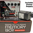 Electro Harmonix Deluxe Memory Boy Tap Tempo Analog Delay with Power Supply image