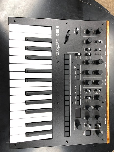 korg monologue monophonic analogue synthesizer reverb. Black Bedroom Furniture Sets. Home Design Ideas