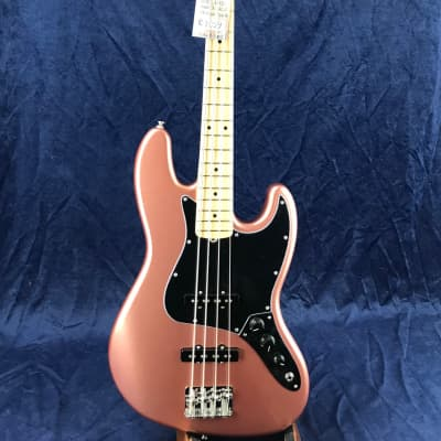 Fender American Performer Jazz Bass Guitar in Penny with  Maple Fretboard for sale