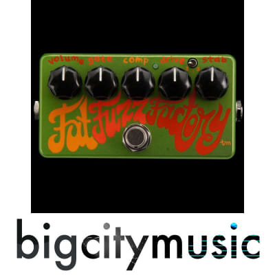 Zvex Fat Fuzz Factory Hand Painted N.O.S. (New Old Stock)