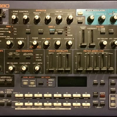 Roland JP-8080, desktop/rack mount synth, vocoder, mint condition