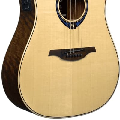 LAG THV20 Dread Cut Hyvibe Acoustic Guitar THV20DCE-U for sale