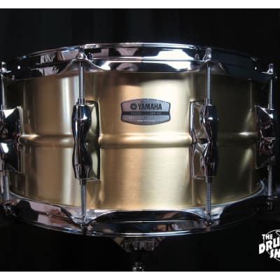 Yamaha Recording Custom Brass Snare Drum 6.5x14