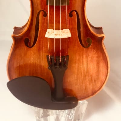 Marcello Radoni 4/4 size acoustic  violin light brown with a golden ground