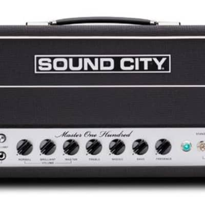 Sound City Master One Hundred Tube Amplifier Head 100 Watts
