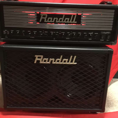 Randall Randall Thrasher 120 2-Channel 120-Watt Tube Guitar Amp Head for sale