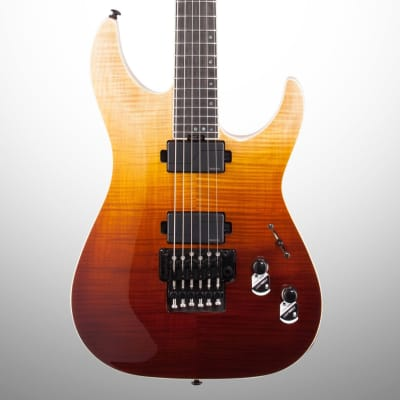 Schecter C-1 FR SLS Elite Electric Guitar, Antique Fade Burst for sale