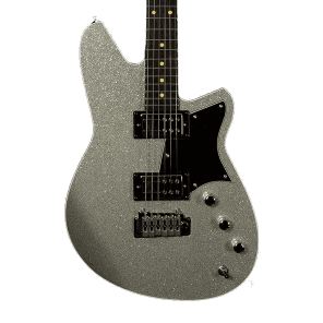 Reverend Tommy Koffin Signature Silver Metal Flake