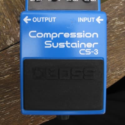 Boss CS-3 Compression Sustainer Made in Japan Black Label