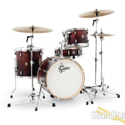 Gretsch 4pc Catalina Club Jazz Drum Set-Satin Antique Fade