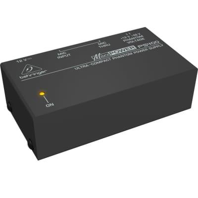 Behringer #PS400 - Ultra-Compact Phantom Power Supply