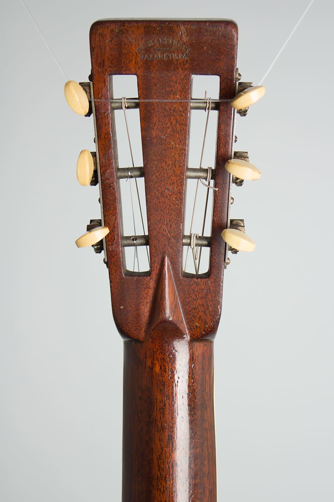 C. F. Martin  0-42 Flat Top Acoustic Guitar (1927), ser. #33279, black hard shell case.