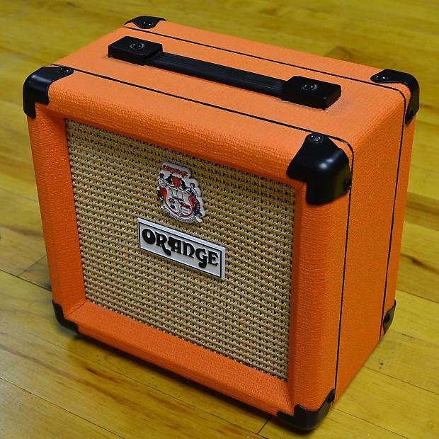 Orange PPC108 1x8 Closed-Back Guitar Speaker Cabinet | Reverb