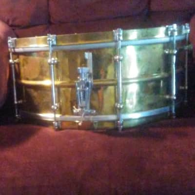 Ludwig And Ludwig Symphonic Brass 7 X 15 Inch 1936 Brass And Chrome
