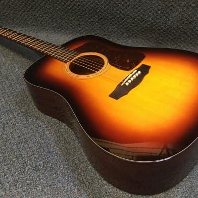 NEW Guild D40 Traditional Acoustic Guitar in Antique Sunburst w/ Hardshell Case