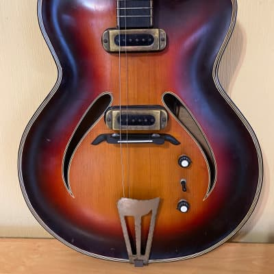 Musima Record  GDR Germany Electric Guitar Vintage and very Rare for sale