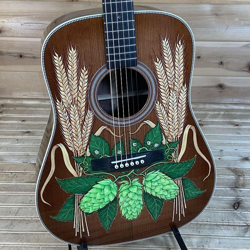 Martin D-Robert Goetzl 1 Acoustic Guitar - Custom Hand Painted