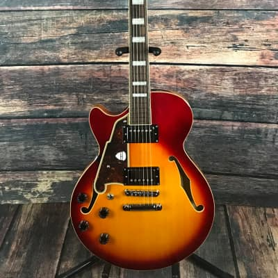D'Angelico Left Handed Premier Series Kurt Rosenwinkel SS Electric Guitar