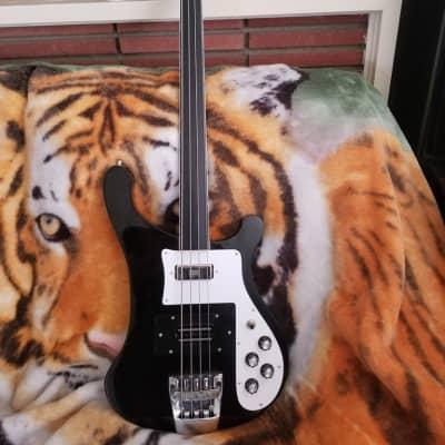 Rickenbacker 4001 fretless bass 1975 Jetglo FINAL PRICE DROP!!