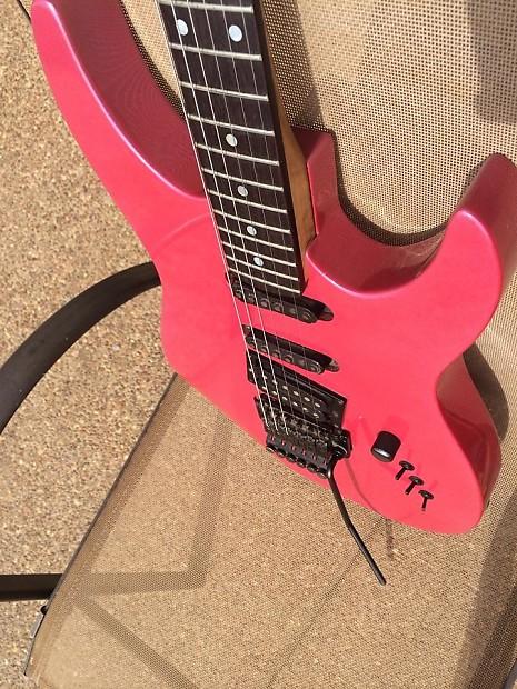Kramer Pacer Custom 1986 Flip Flop Pink