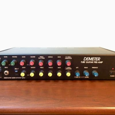 Demeter TGP-3 preamp #15 – upgraded/updated + accessories