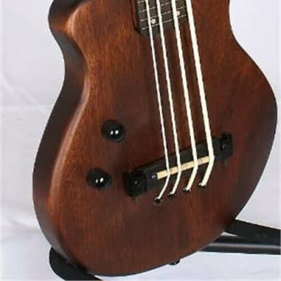Gold Tone ME-BassFL/L Fretless 23-Inch Scale Solid Body Electric Microbass w/Gig Bag For Lefty Play