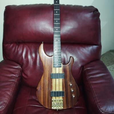 Dean Jeff Berlin Prototype Bass Padauk Wood With Maple Stringers for sale