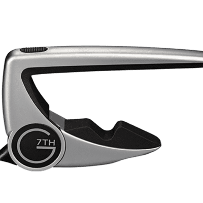 G7th Performance 2 Capo, Classical, Silver