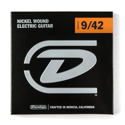 Dunlop Light Nickel Electric Strings 9-42